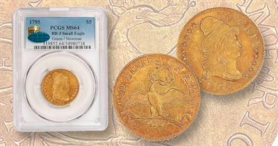 1795 gold half eagle