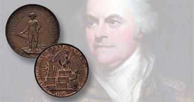 1796 Admiral Gardner token