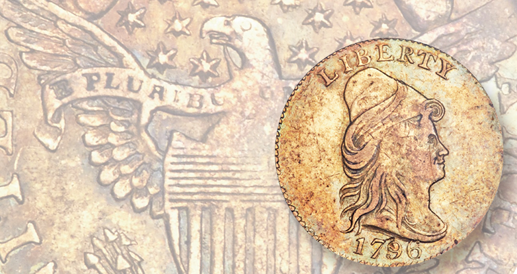 Lightly worn rarities from the first years of the Philadelphia Mint in Dallas sale