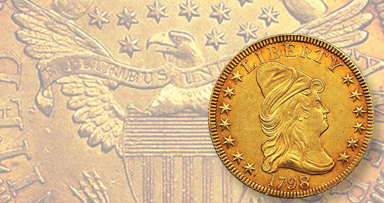 1798 Capped Bust gold eagle