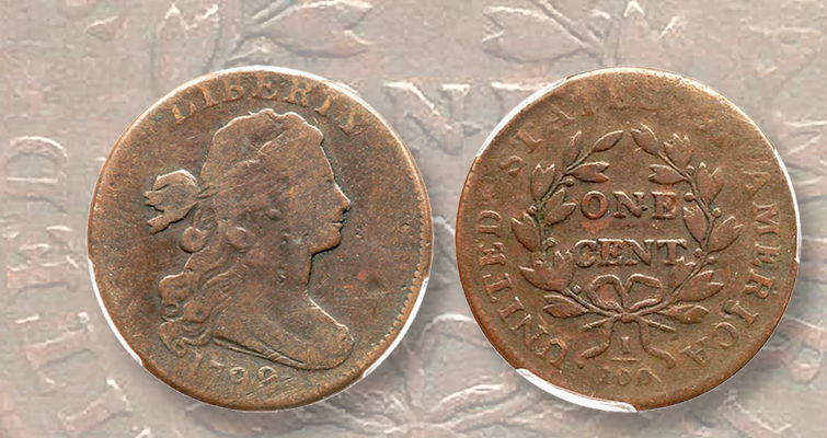 1799/8 Draped Bust large cent