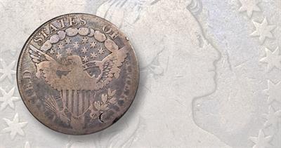 1798 Draped Bust Heraldic Eagle dollar