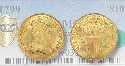 1799 Capped Bust Eagle