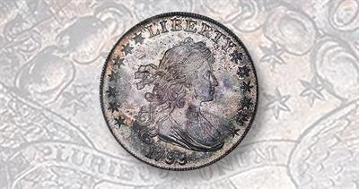 1799 Draped Bust dollar