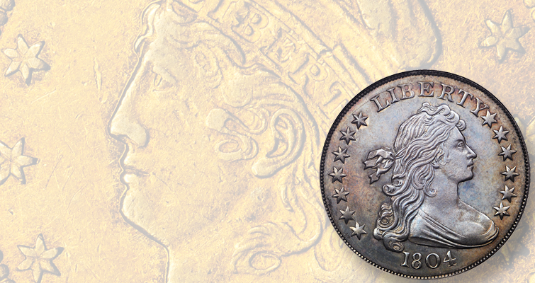 Finest 1804 dollar, only available 1822 half eagle to headline Pogue IV auction