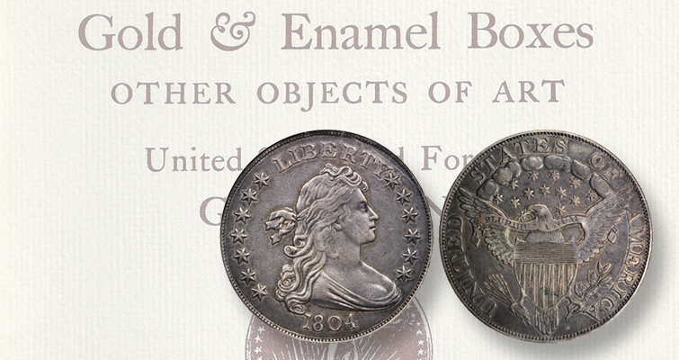 Collecting auction catalogs offering 1804 dollars: Numismatic Bookie