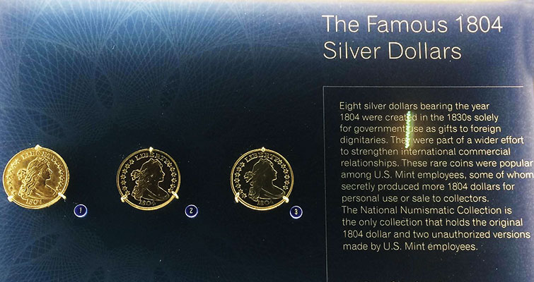 What items are featured in the Smithsonian's new numismatic exhibit?