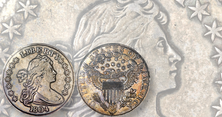The Red Book text has been updated several times to reflect current research concerning the mysterious origins of this original 1804 dollar, the King of Coins.