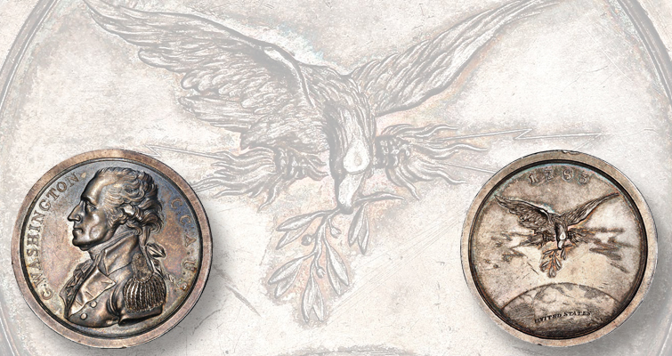 1805 George Washington medal