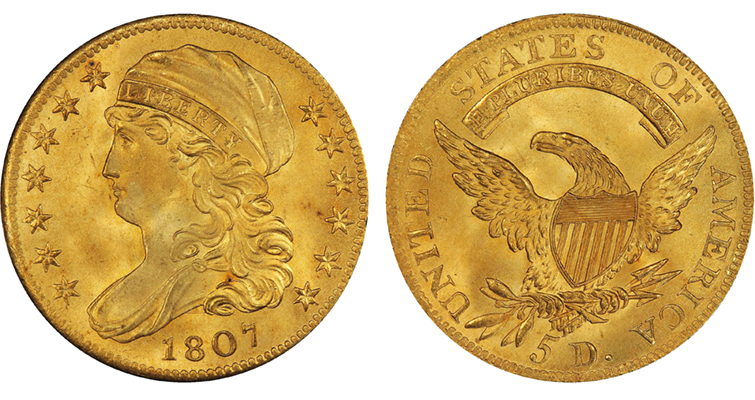 1807fivedollargold