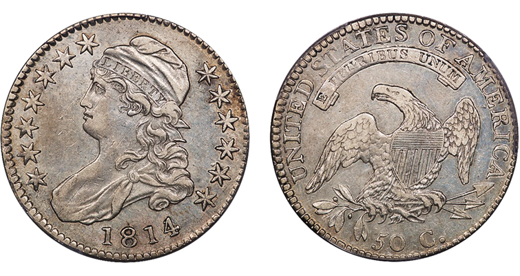 1814 over 3 Bust half O-101 merged