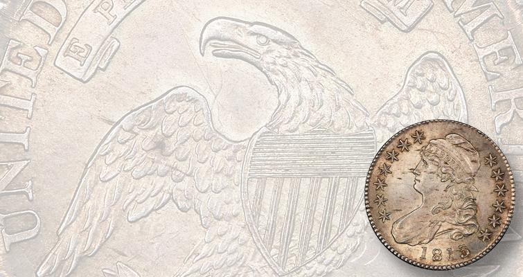 1815/2 Capped Bust half dollar