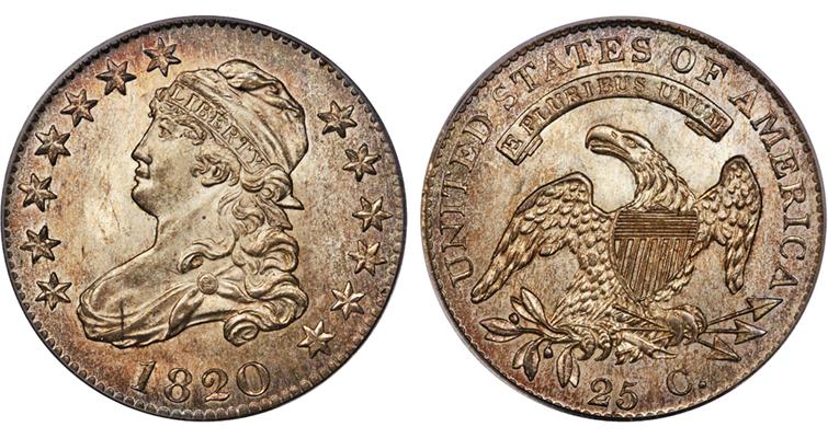 1820-capped-bust-medium-o-quarter-dollar-gardner-vi-ha