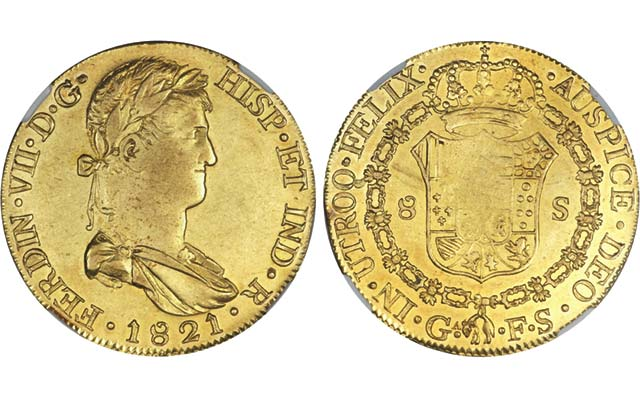 Heritage announces sales of Rudman Colonial Mexican coins collection