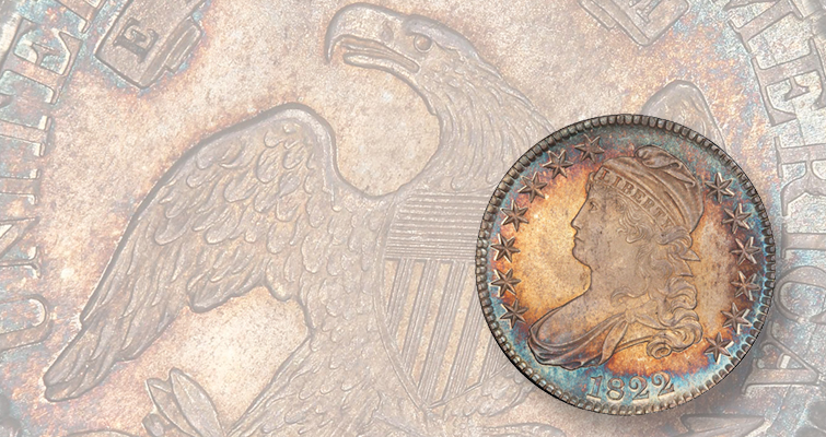 Great Pogue 1822 Capped Bust half dollar brings $88,125: Market Analysis
