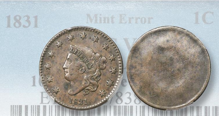 1831-cent-uniface-ha-lead