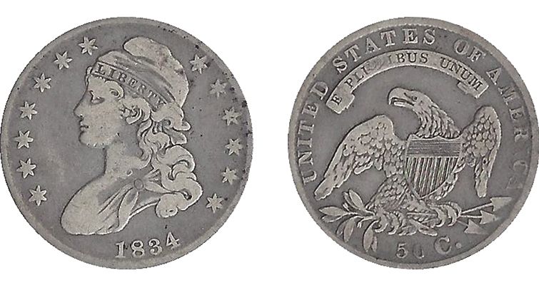 1834 coins deserve a second look from collectors: Designs of the Times