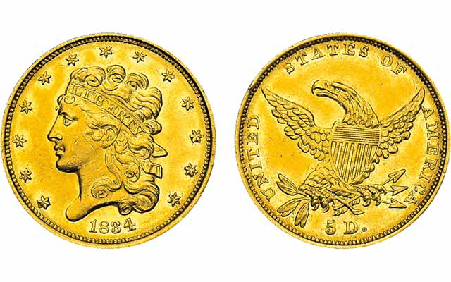 Classic Head gold coins are survivors: Q. David Bowers