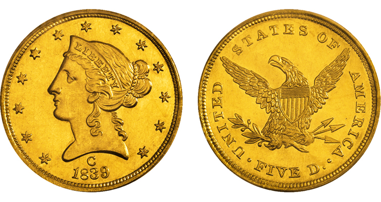 Consider collecting Coronet gold $5 half eagles: Q. David Bowers