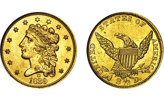 Collect Classic Head gold $2.50 quarter eagles: Q. David Bowers