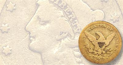 1841 Quarter Eagle