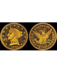 1841_proof_quarter_eagle_pcgs_pr64