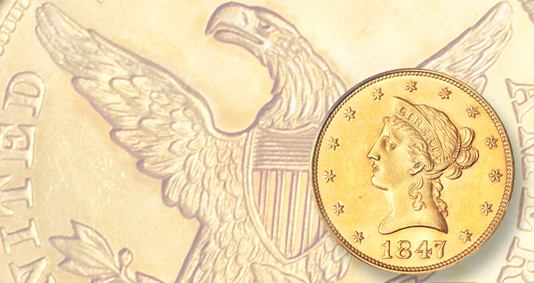 Coronet gold $10 eagles once forgotten U.S. coin series: Q. David Bowers