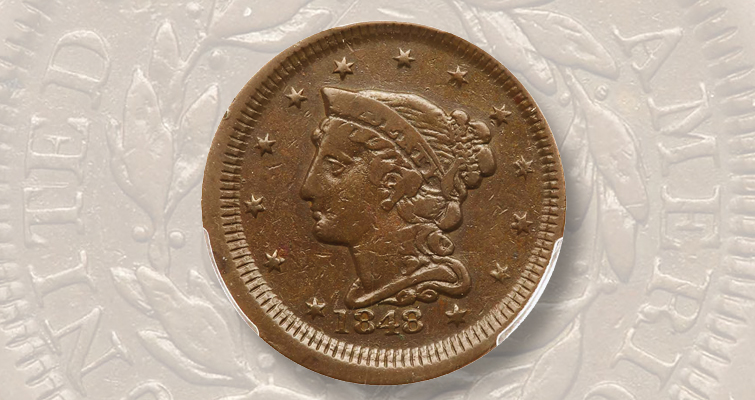 1848 Fantasy cent