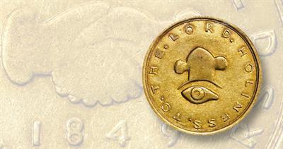 1849 Mormon gold $10