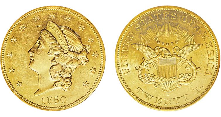 1850-coronet-double-eagle-ha