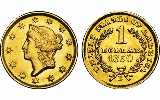 Collecting gold dollars: Q. David Bowers