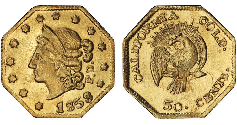 1853-50c-bg302-peacock-pcgs-ms64