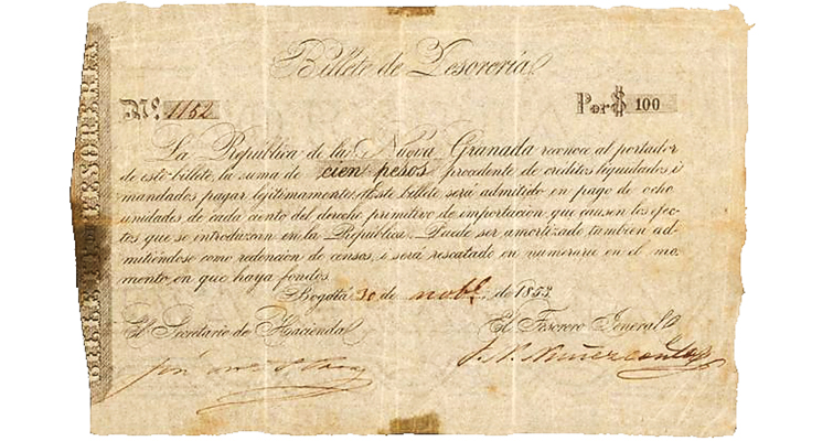 1853-colombia-100-peso-billete-sbg