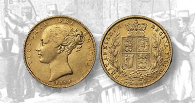 1859 gold sovereign