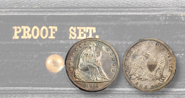 Stack's Bowers hosts Oct. 1 Rarities Night sale after second Pogue auction, offers original 1859 Silver Proof set
