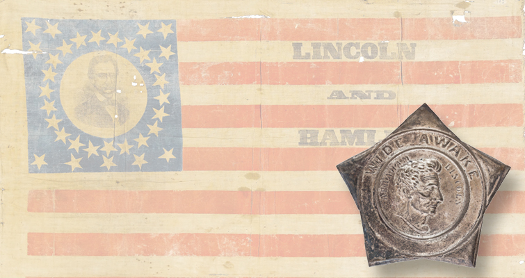 1860 presidential election collectibles