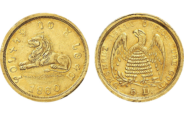 U.S. pioneer gold coins among highlights of Berlin Auction 2015 by Künker