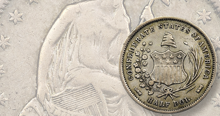 Johnny Dollar from times past hot on the trail of Confederate half dollar