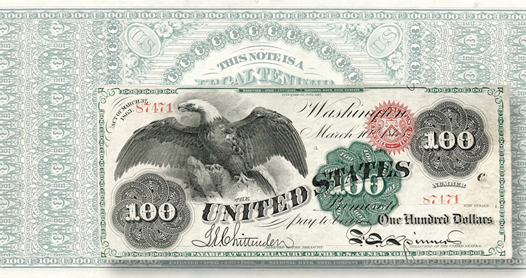 Four large-size notes break $100,000 barrier at Lyn Knight auction