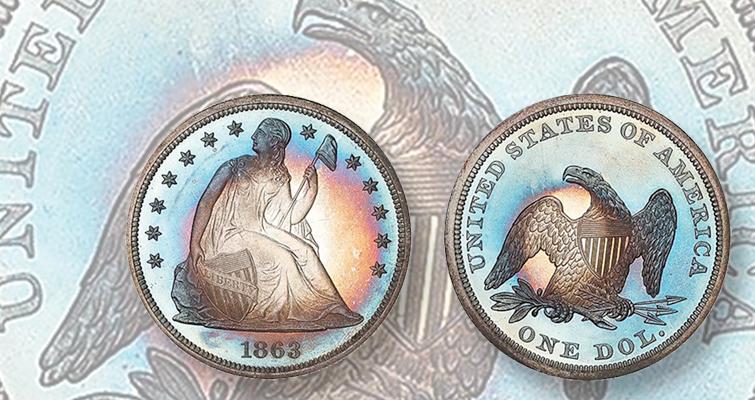 1863 dollar