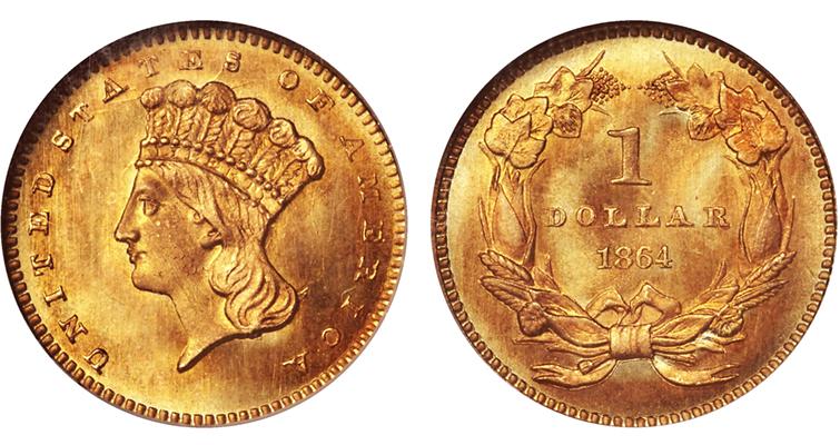 1864-golddollar