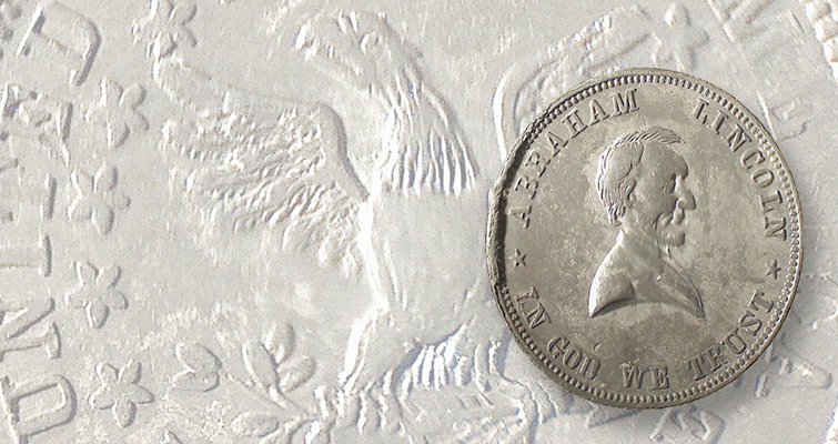 Trying to solve mystery of 1864 Abraham Lincoln token: Readers Ask