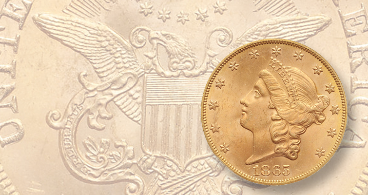 Shipwrecked 1865 Coronet $20 hits big at California Auction: Market Analysis