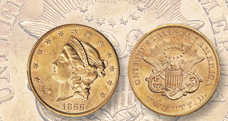 New information on the 1866-S No Motto Coins""