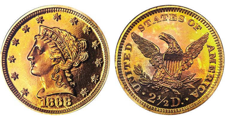 1868-quartereagle