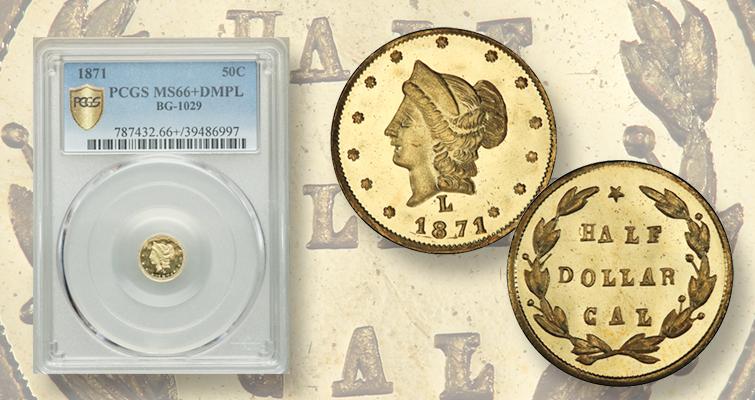 1871 California gold