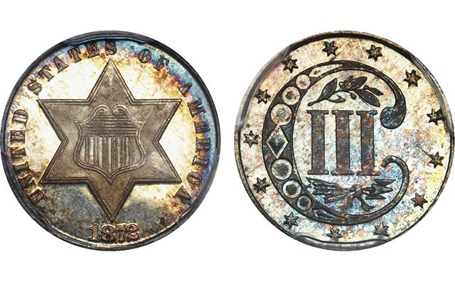 Top-quality 3-cent silver pieces bring big money at Legend Regency XI auction in Las Vegas