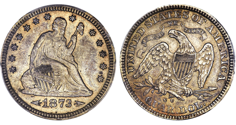 1873-cc-seated-liberty-with-arrows-quarter-dollar-gardner-vi-ha