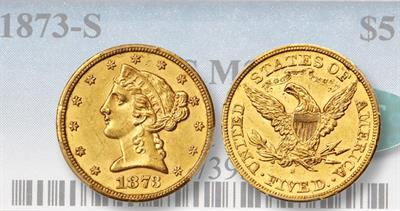 1873 and 1888 half eagles