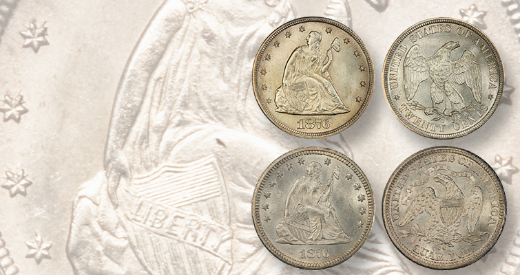 Ever try assembling a faux set of Seated Liberty silver coins?